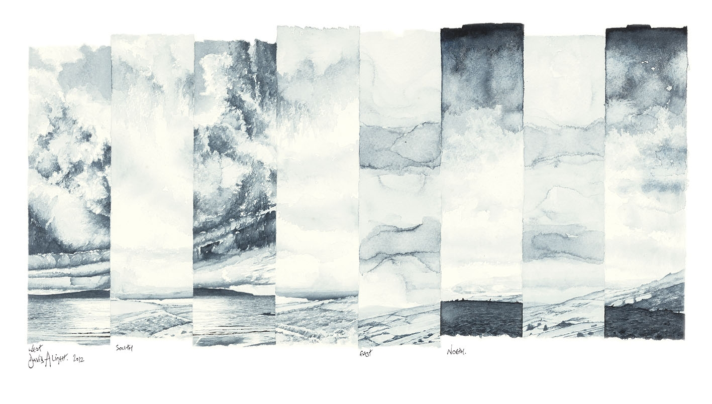 50-WEST-SOUTH-EAST-NORTH-LARGE-GICLEE
